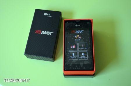 LG Optimus 3D Max, contenuto della confezione