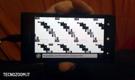 Nokia Lumia 900, il crash su YouTube