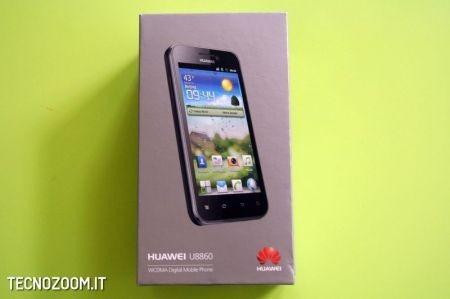 Huawei Honour, come si presenta la confezione