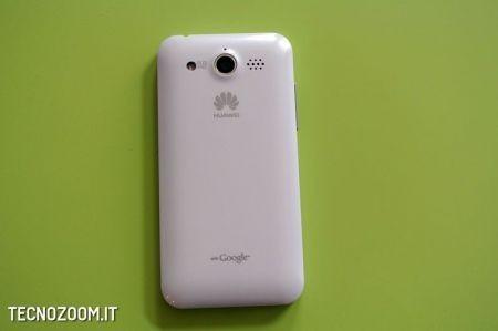 Huawei Honour, il retro bianco