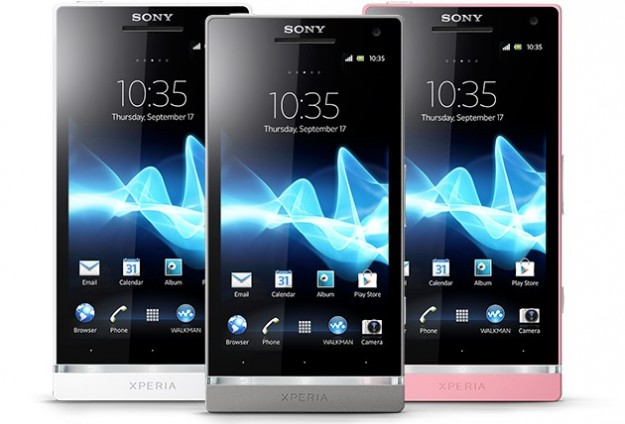 Sony Xperia SL: colore e potenza, la scheda tecnica [FOTO]