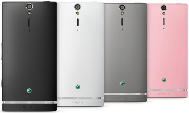 Sony Xperia SL colori