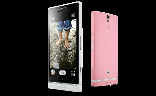 Sony Xperia SL rosa