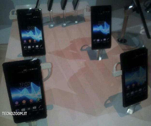 Sony Xperia T, V, J e Tablet S - IFA 2012