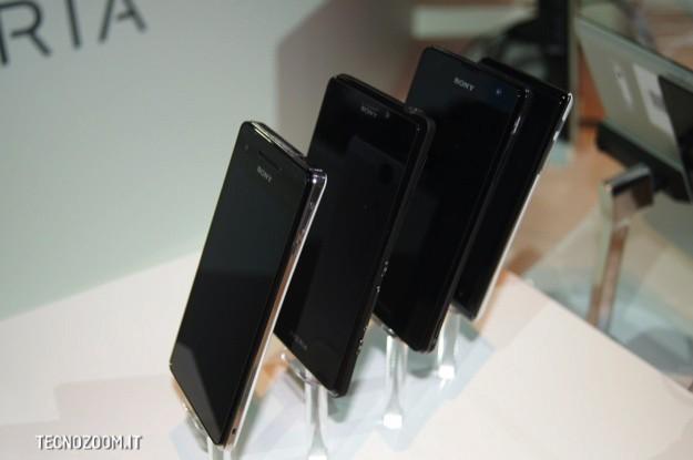 Nuovi Sony Xperia - IFA 2012