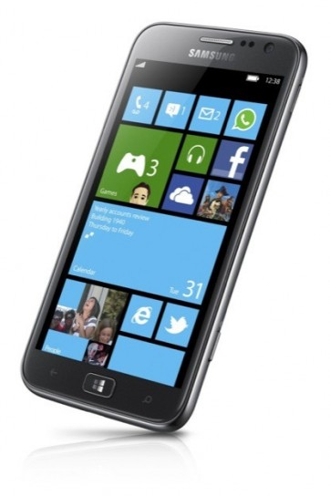 Samsung ATIV S - Inclinato