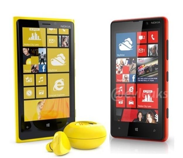 Nokia Lumia 920 e 820 - Auricolare