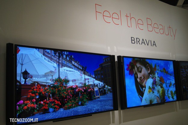 IFA 2012: Sony TV Bravia 4K, un gigante da 84 pollici [FOTO e VIDEO]