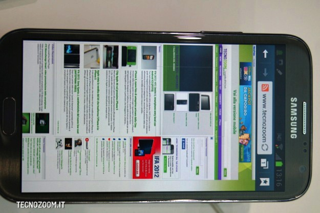 Samsung Galaxy Note 2 - IFA 2012
