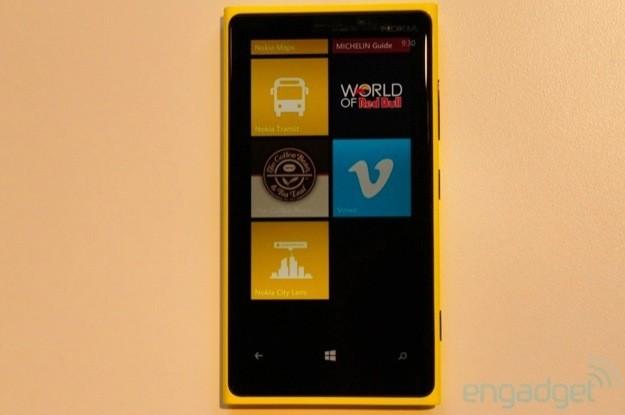 Nokia Lumia 920 - Fronte