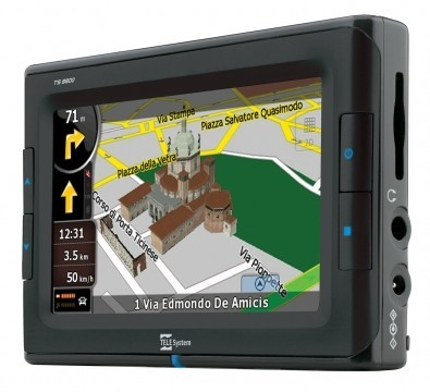 Gps TS8800 con la tv digitale terrestre