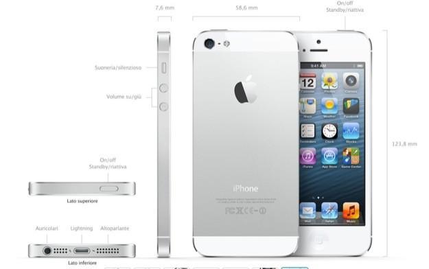 iPhone 5 - Foto ufficiali