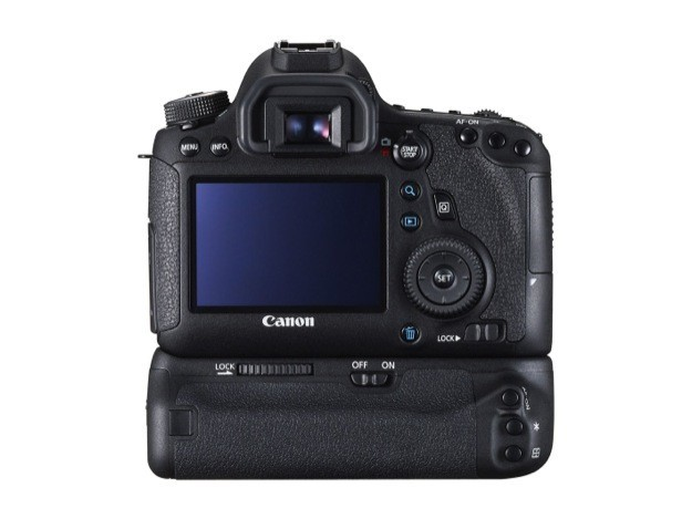 Canon EOS 6D - Retro con battery grip
