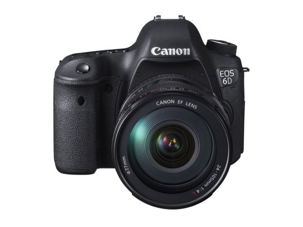 Canon EOS 6D - Frontale 1