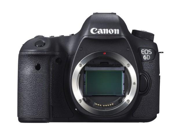 Canon EOS 6D - Fronte senza obiettivo 1