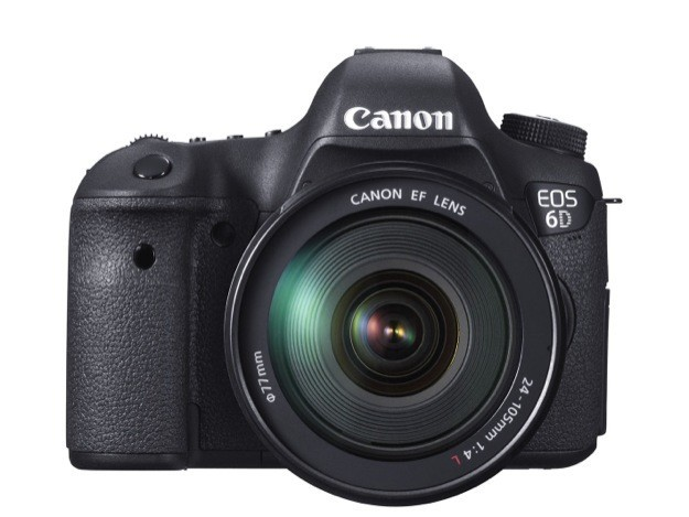 Canon EOS 6D - Frontale 2