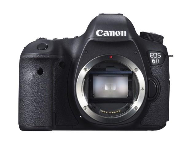 Canon EOS 6D - Fronte senza obiettivo 2