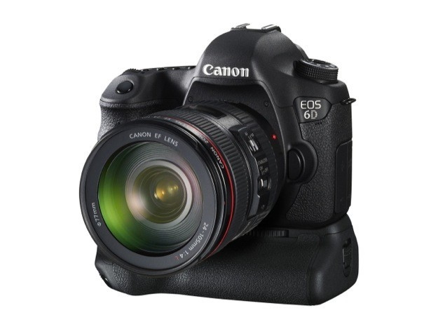 Canon EOS 6D - Isometrica con battery grip