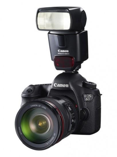 Canon EOS 6D - Isometrica con flash