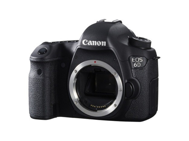 Canon EOS 6D - Isometrica senza obiettivo