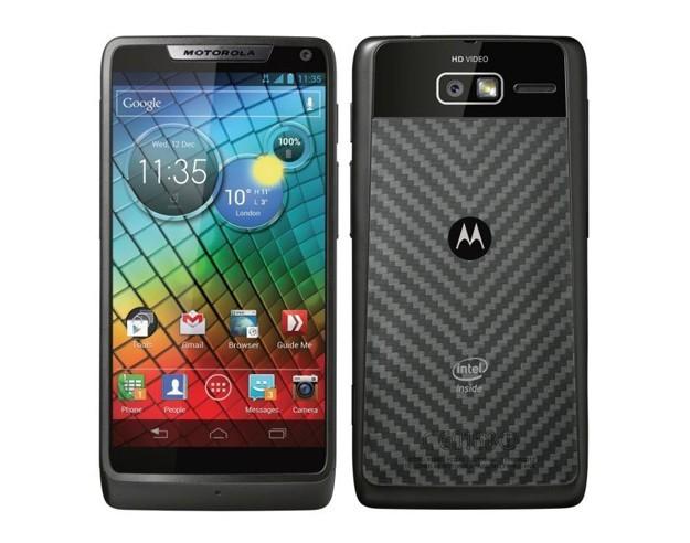 Motorola RAZR i - Fronte e retro