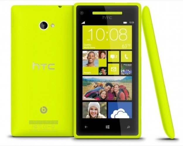 HTC Windows Phone 8X - Giallo