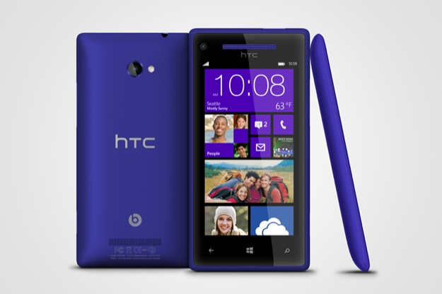 HTC Windows Phone 8X - California Blue