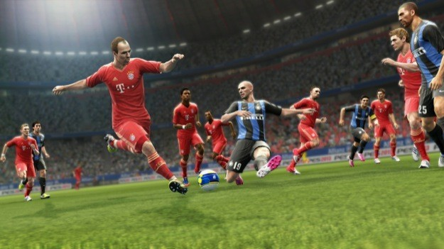 PES 2013 - Bayern Monaco contro Inter