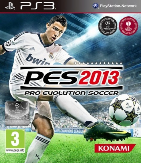 PES 2013 - Copertina