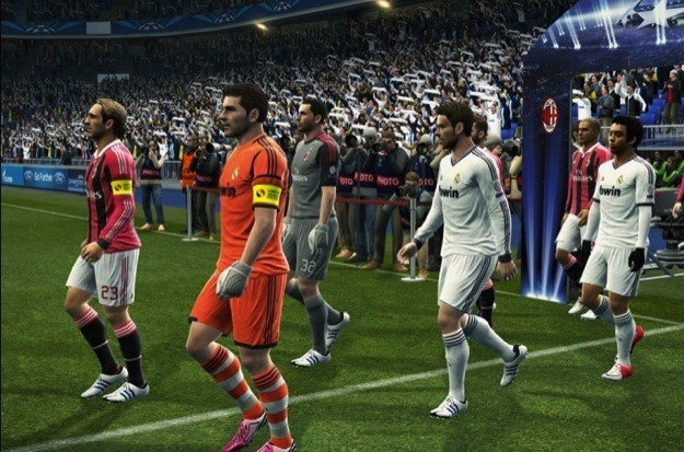 PES 2013 -  Milan contro Real Madrid