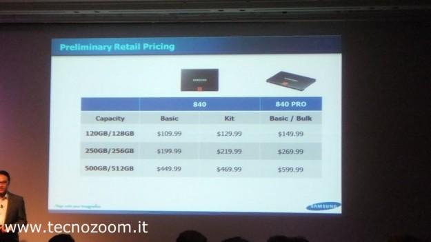 Samsung SSD 840 specs