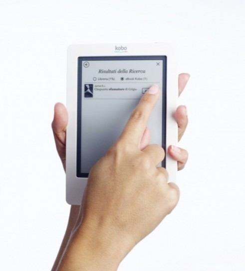 Kobo Touch - Touchscreen