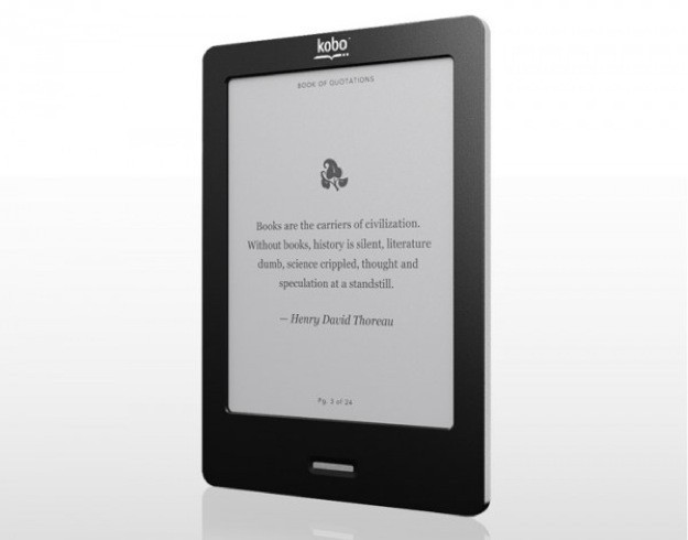 Kobo eBook reader, l'alternativa al Kindle per il Natale 2012 [FOTO]