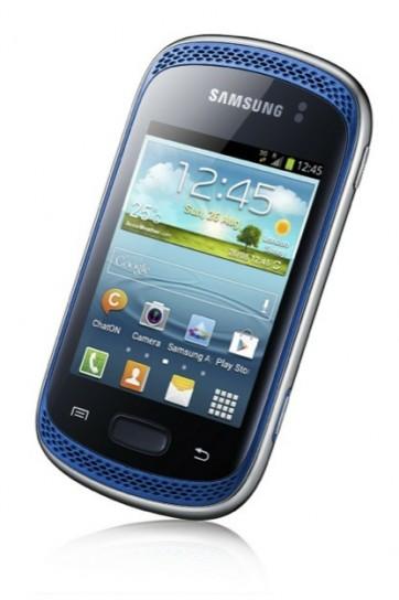 Samsung Galaxy Music - Blu isometrico