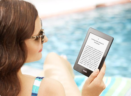 Kindle Paperwhite - Al sole