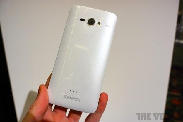 HTC J Butterfly - Retro bianco