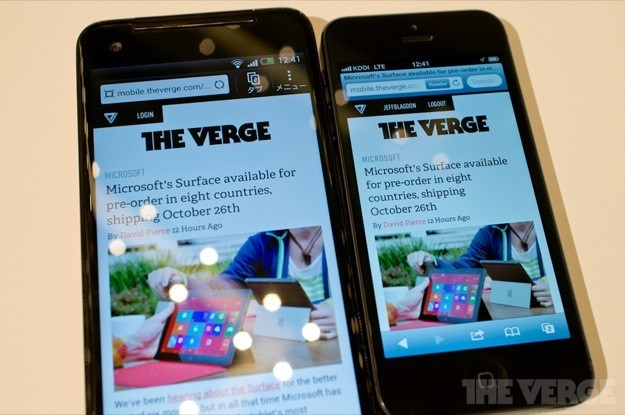 HTC J Butterfly - The Verge