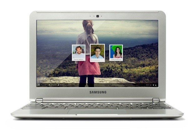Samsung Chromebook 2012 - Fronte