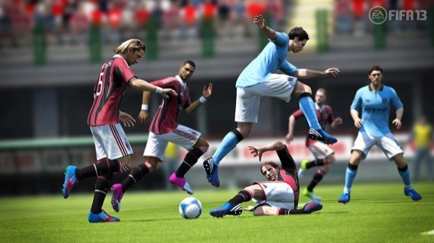 FIFA 13 - Milan-Man City