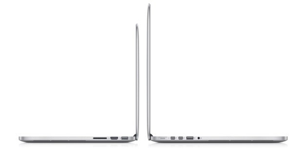 MacBook Pro Retina Display 13 pollici - Spessore