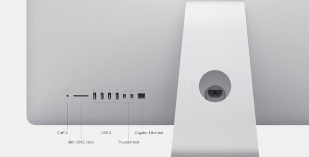iMac 2012 - Connettività