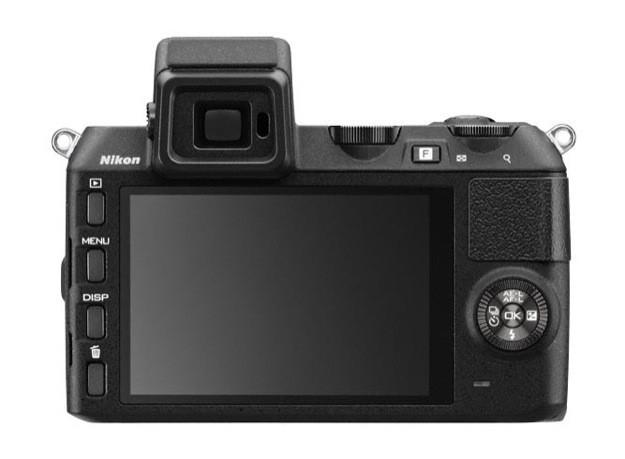 Nikon 1 V2 - Schermo