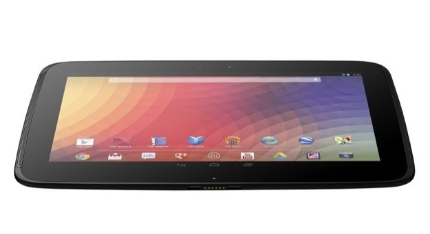 Google Nexus 10 by Samsung - Inclinato