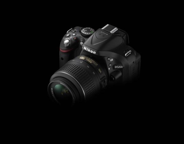 Nikon D5200 - Buio