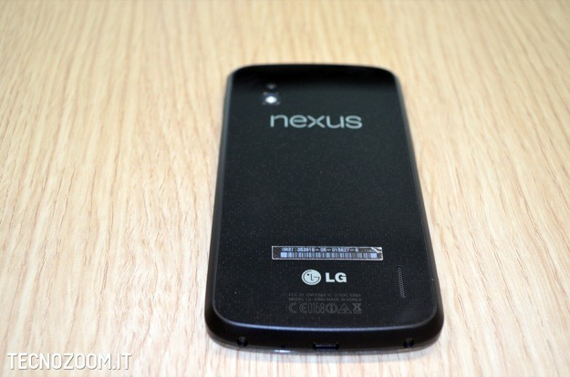 Google Nexus 4 recensione - Retro