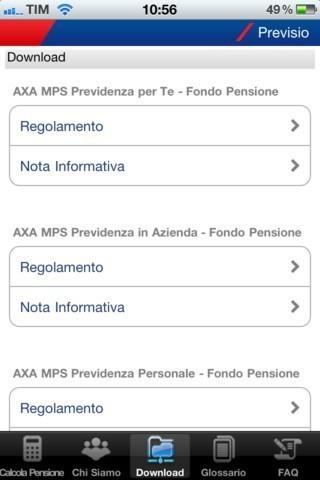 Previsio di AXA MPS - Previdenza