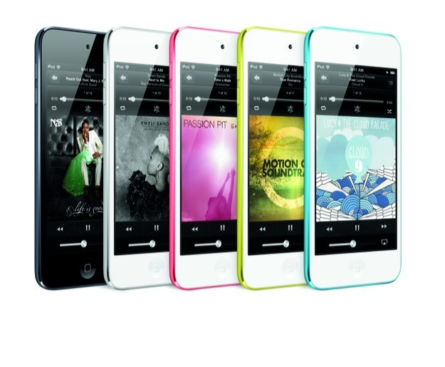 iPod Touch 5G - Gamma colori