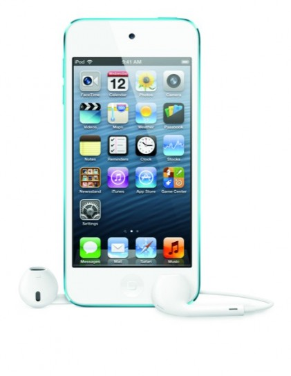 iPod Touch 5G - Fronte con EarPods