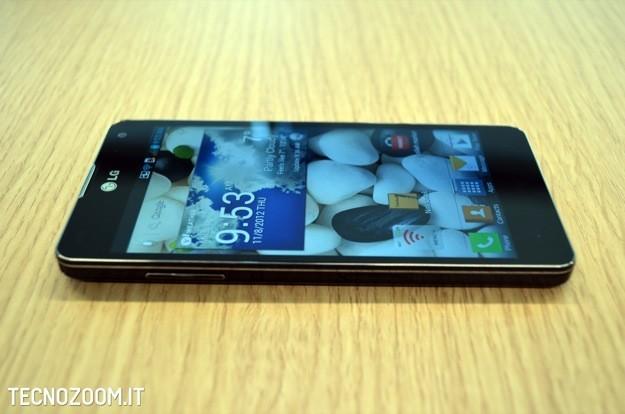 LG Optimus G recensione - Profilo 1