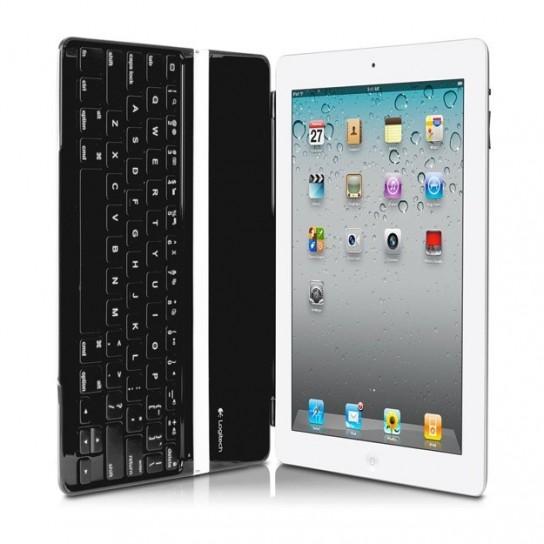 Logitech Ultrathin Keyboard Cover per iPad - Aperta